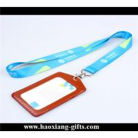 China Hot selling 20*900mm fabric polyester neck strap with custom printed logo wholesale