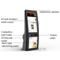 China IR Touch Screen self service Ticket Machine Back LED Light Advertising Panel wholesale