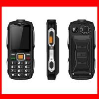 New Wholesale OEM 2.4 Screen Rugged Waterproof Feature Mobile Phones With Big Battery Power Bank Loud