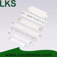 China Stainless steel marker plates wholesale