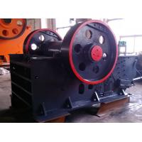 China Automatic Discharging Dolomite Flint Jaw Crusher Machine With Impact Protection wholesale