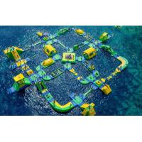 China Popular Inflatable Floating Water Park Games For Adults wholesale