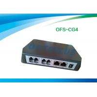 China RJ45 2 Port Gsm Gateway Voip Device Black 2FXS+2FXO SIP PSTN failover Busy Tone Detection on sale