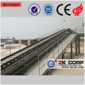 China Industrial Belt Conveyor / Grain Inclined Belt Conveyor for Sale on sale