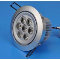 Buy cheap 7W Recessed LED Downlight /  Ceiling Lights  Fixtures 2700 - 8500k, 30°, 45° for School from wholesalers