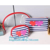 China Eco Shopping Bags Toiletry Kits Pvc Zipper Pouch Makeup Cosmetic Travel Organizer wholesale