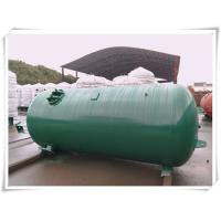 China Industrial Compressed Oxygen Air Storage Tanks , Liquid Oxygen Portable Tanks With Bracket wholesale