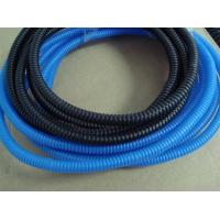 China Blue Color Flexible Flexible Corrugated Pipe for Cable Protection For Sale wholesale