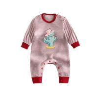 China Cute Printed Cotton Infant Baby Clothes Long Sleeve Baby Daily Clothes wholesale