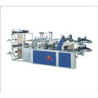 China Computer controlled double layer roll top T-shirt and flat bag making machine wholesale