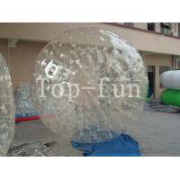 China Outdoor Clear Inflatable Zorbing Ball / Big Glass Balls With 1 Year Warranty wholesale