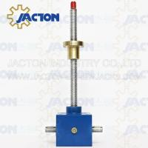 China New design swivel base jack best quality worm screw lift for aircraft maintenance Motorized Worm Screw Gear Jack wholesale