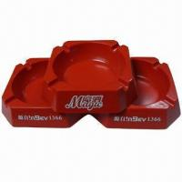China cigarette ashtray, melamine material,square shape,your sizes and designs are available wholesale
