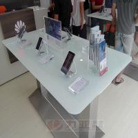 Wholesale Huawei brand display table, huawei mobile phone display desk, stainless steel display furniture from china suppliers