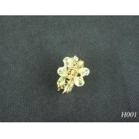 China Alloy Copper Custom Color Jeweled Hair Accessories Shine Hairpin for Party 20g OEM wholesale