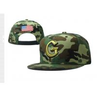 China 6 Panel Camouflage Snapback Baseball Caps 3D Embroidery , Acrylic Wool Fabric wholesale