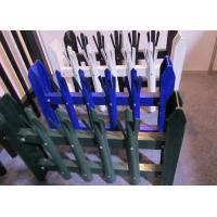 China Eco Friendly Palisade Security Fence , Metal Picket Fence Panels 2.0*2.4m Size wholesale