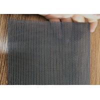 China Security Window Door 304 Stainless Steel Wire Screen Mesh 18 Mesh Number wholesale