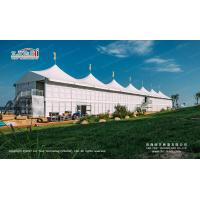 China High Peak  Double Decker Tents With ABS Hard Wall And Luxury Decoration For High Class Events wholesale