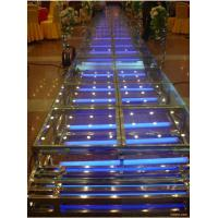 China FiberGlass Stage With 18mm Thickness Glass Board For Sale wholesale