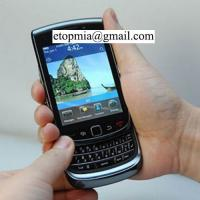China 16M Colors TFT Capacitive Touchscreen Refurbished Blackberry 9800 Classic Mobile Phones wholesale