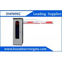 China 3S Lifting Time Intelligent Car Parking Lot Barrier Gate With Folding Arm wholesale