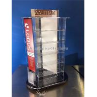 China Tabletop Rotating Acrylic Display Case , 3-Way Pocket Watch Display Case wholesale
