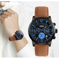 China Fashion Sport Style Beyond The Self to Break the Shackles 3D Dial Leather Men Quartz Wrist Watches 9147 wholesale
