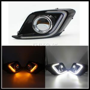 China SMD LED Daytime Running Light For Mazda 3 Axela with turn signal light LED DRL fog lamp wholesale