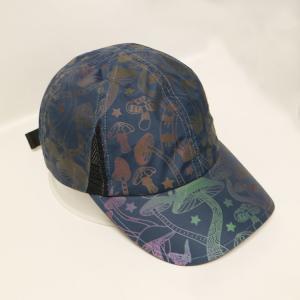 China OEM/ODM ACE brand 100% polyester reflective print sport golf baseball hat cap wholesale