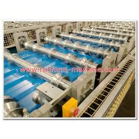 China Aluminum Corrugated Roofing Sheet Making Machine of Different Types for Various Roof Profile Designs on sale