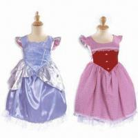 China Party Dresses, Made of 100% Polyester, Suitable for Girls wholesale