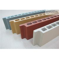 China Natural Color Terracotta Panels Facade Cladding Materials With Low Maintenance wholesale