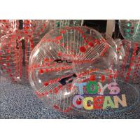 Quality Sport Game Inflatable Bumper Ball Human Hamster Ball Bubble Outdoor Entertainment for sale