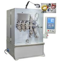 China 2.00 - 6.00mm Five Axis CNC Coil Spring Machine With Servo Motion System wholesale