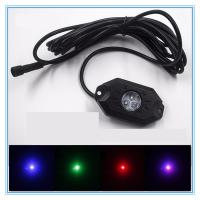 China 4 Pods RGB LED Rock Security Lights with Bluetooth Controller for Music Mode , Flashing wholesale