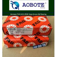 China FAG 6212-2RSR Single Row Deep Groove Ball Bearings Low Vibration wholesale