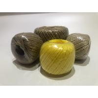 China Twist Caco3 Polypropylene Twine For Cable Filler 7-40kg / Roll With Spool wholesale