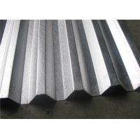 China 1.5mm Width 750mm Flat Corrugated Aluminum Sheet For Building / Construction wholesale
