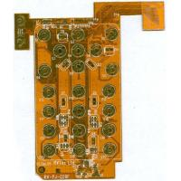 Buy cheap 1oz copper 0.15mm thickness 2 layer polyimide copper flexible pcb board for connector  from wholesalers