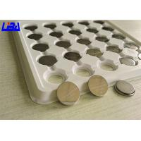 China Different Solder Tabs Coin Cell Battery , 3v 75mAh Cr1620 Lithium Battery wholesale