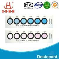China DMF Free Six Dots Blue To Pink Humidity  Indicator Card For  Packages of  Electronics wholesale