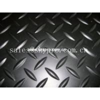 China Customized Heavy Duty Nonslip Rubber Car Mats Smooth / embossed Surface wholesale
