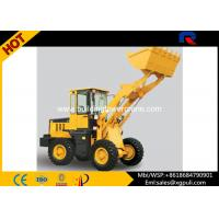 China Front Loader Construction Equipment , Compact Wheel Loader Max. Breakout Force 30kN wholesale