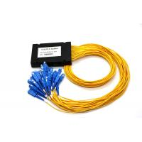 China PLC Digital Optical Cable Splitter , Optical Wire Splitter ABS 1 * 32 For Network wholesale