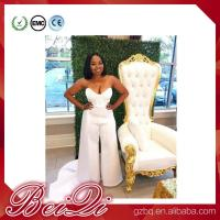 China Luxury spa furniture pedicure spa with high back throne chair pedicure chairs white wholesale