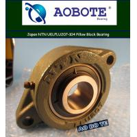 China Japan NTN FLU207 Pillow Block Bearing Single Row ABEC-5 For Machinery wholesale