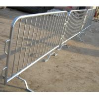 Wholesale Tubular Steel Loose Foot Crowd Control Barrier Galvanized Crowd Control Barricade/Movable Road Fence from china suppliers