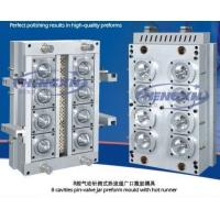 China 8 cavity jar preform mould with hot runner wholesale