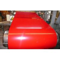 Red Roof Structure Prepainted Galvalume Steel Coil For Roller Shutter Door